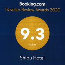 2020 Award Shibu Hotel Booking.com